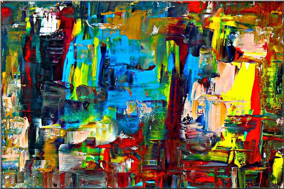 Abstrakte Gemlde