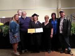 Tammys Grad. family and Connie, Richs younger sister