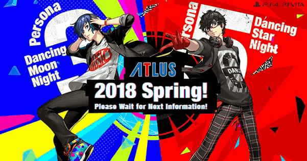New Persona Games Coming in 2018