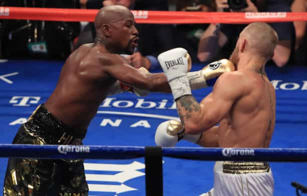 Floyd Mayweather Defeats