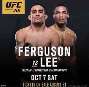 UFC 216 Preview
