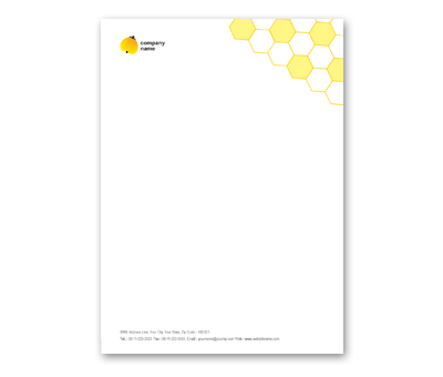 Letterhead Design for Electrical Shop Offset or Digital