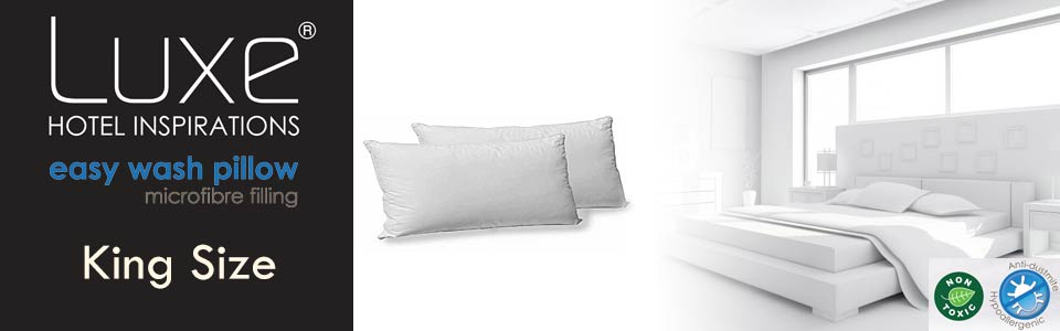 Luxe Easy Wash Pillow