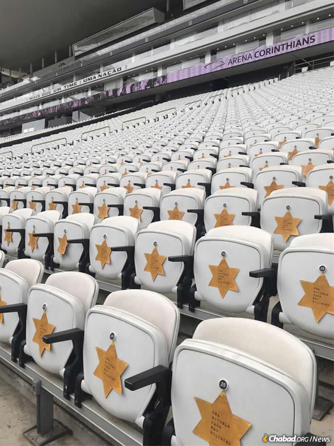 La sensibilisation à l'Holocauste à l'échelle du pays s'est accrue ces dernières années. Récemment, les Corinthians, l'une des équipes de football les plus populaires du Brésil, portaient des étoiles de David sur leurs maillots pour commémorer la Kristallnacht, et un message commémoratif a été apposé sur les sièges du stade.