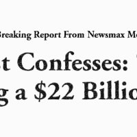 "Scientist Confesses: ""Global Warming a $22 Billion Scam"""