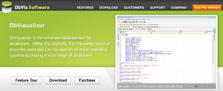 Database Management Software Tools - DbVisualizer
