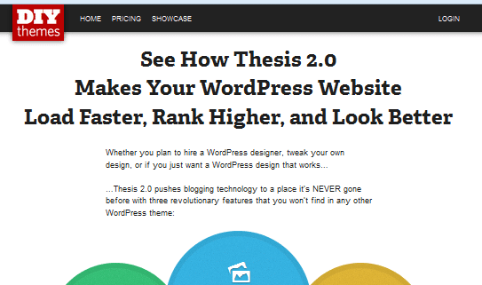 Thesis theme framework