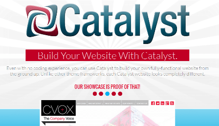 Catalyst - Build A Website, Create Your Powerful Website with Catalyst
