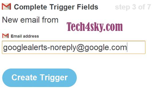 Google Alert as Trigger