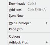 Firefox sync now