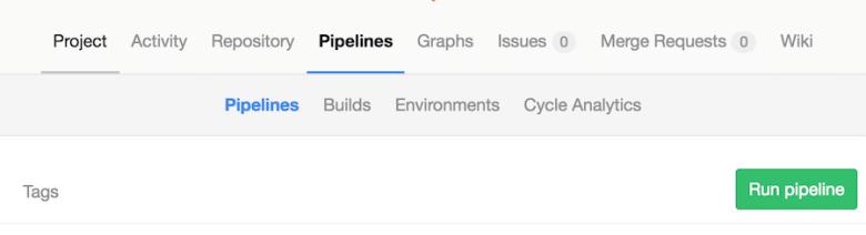 Gitlab pipeline