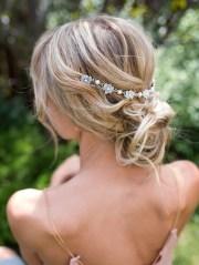 wedding hair chain - boho vintage