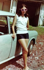 Dorothy on St. Vincent circa 1970