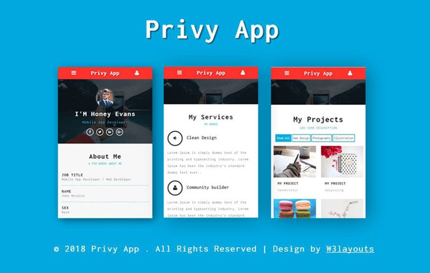 privy mobile app bootstrap