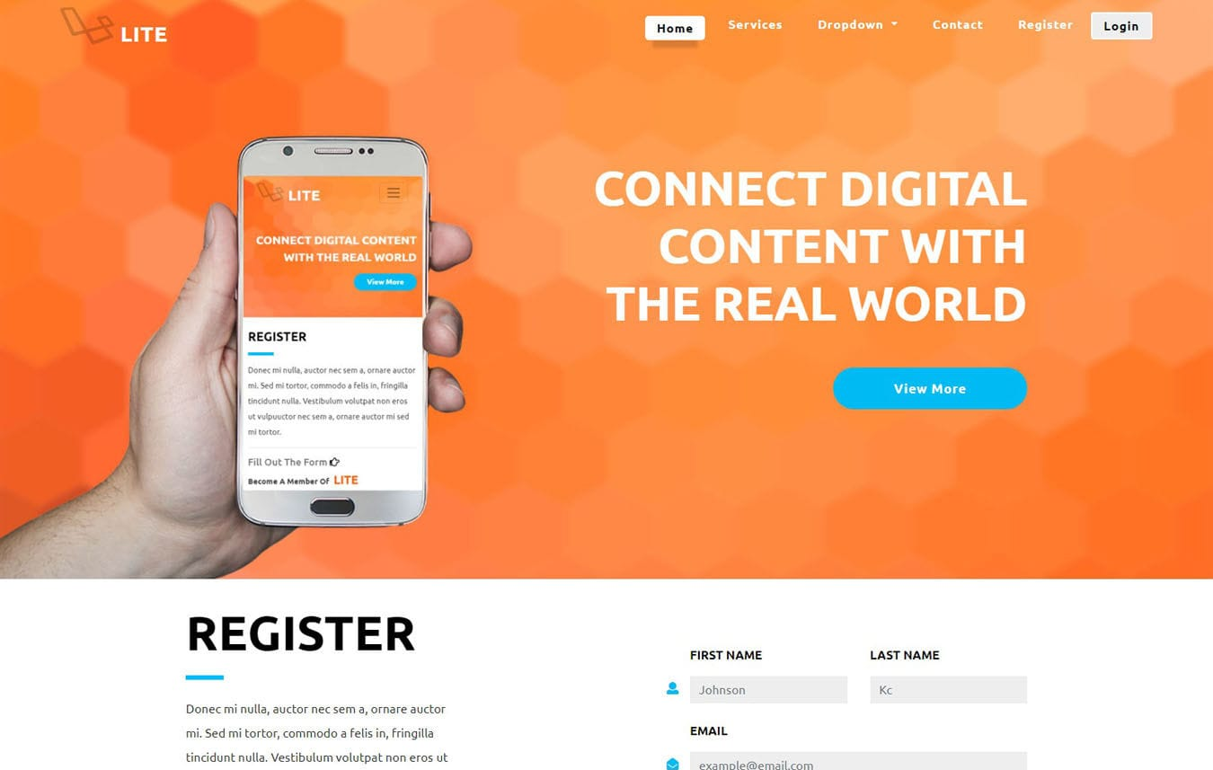 Value A Mobile App Based Flat Bootstrap Responsive Web