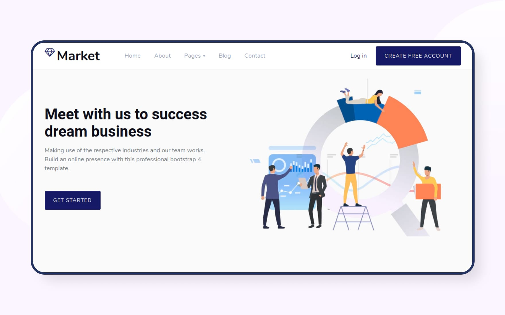Take a look at our range of free email templates that have been created keeping in mind the varied uses. Market Website Template W3layouts
