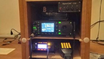 HAM Radio repair: ICOM IC-7000 with receiver problems and