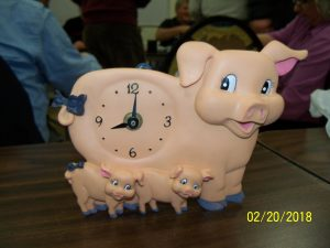 Pinkie's Pig Clock