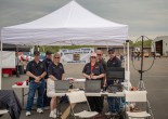 The OVH team at the Manassas Airshow