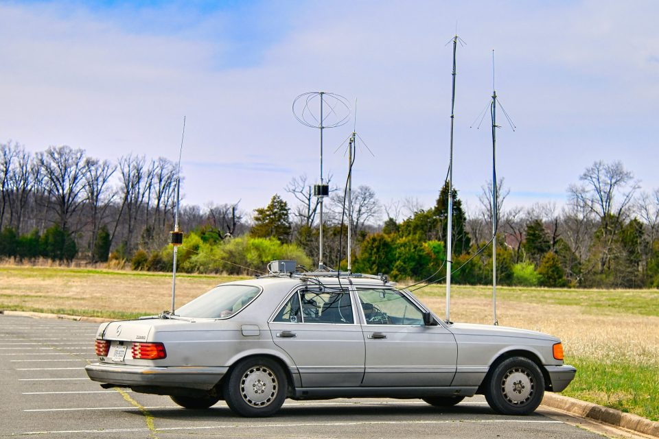 Gil's mobile antenna farm (KM4OZH)