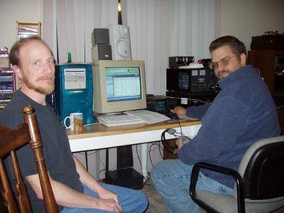 2004 OVH XMAS PARTY - Wayne K. and Dwight