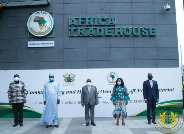 Prez Akufo-Addo Commissions & Hands-Over AfCFTA Secretariat To Au ...