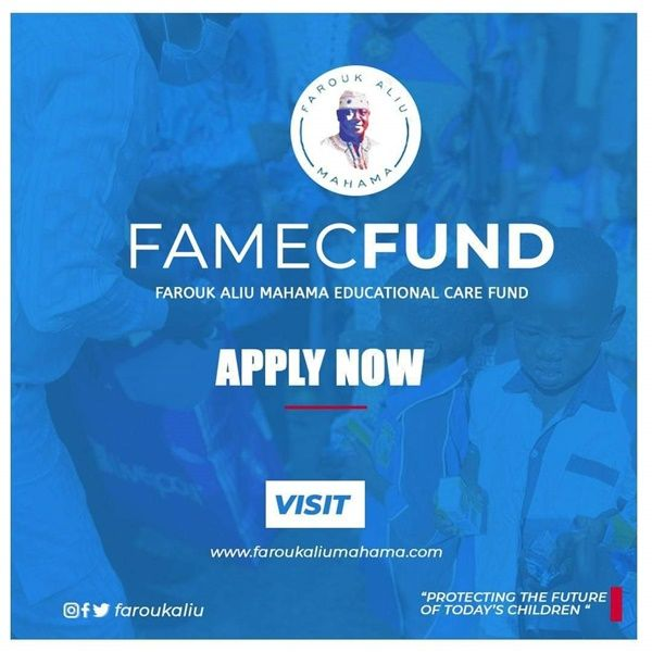 Farouk Aliu Mahama Launches FAMEC-Fund For Brilliant But Needy Students