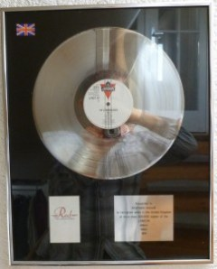 Jimmy Somerville Platin Award The Communards Red