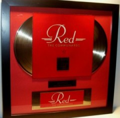 Jimmy Somerville Double Gold Award The Communards Red