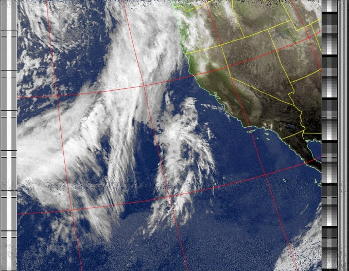 NOAA Weather Satellite Image