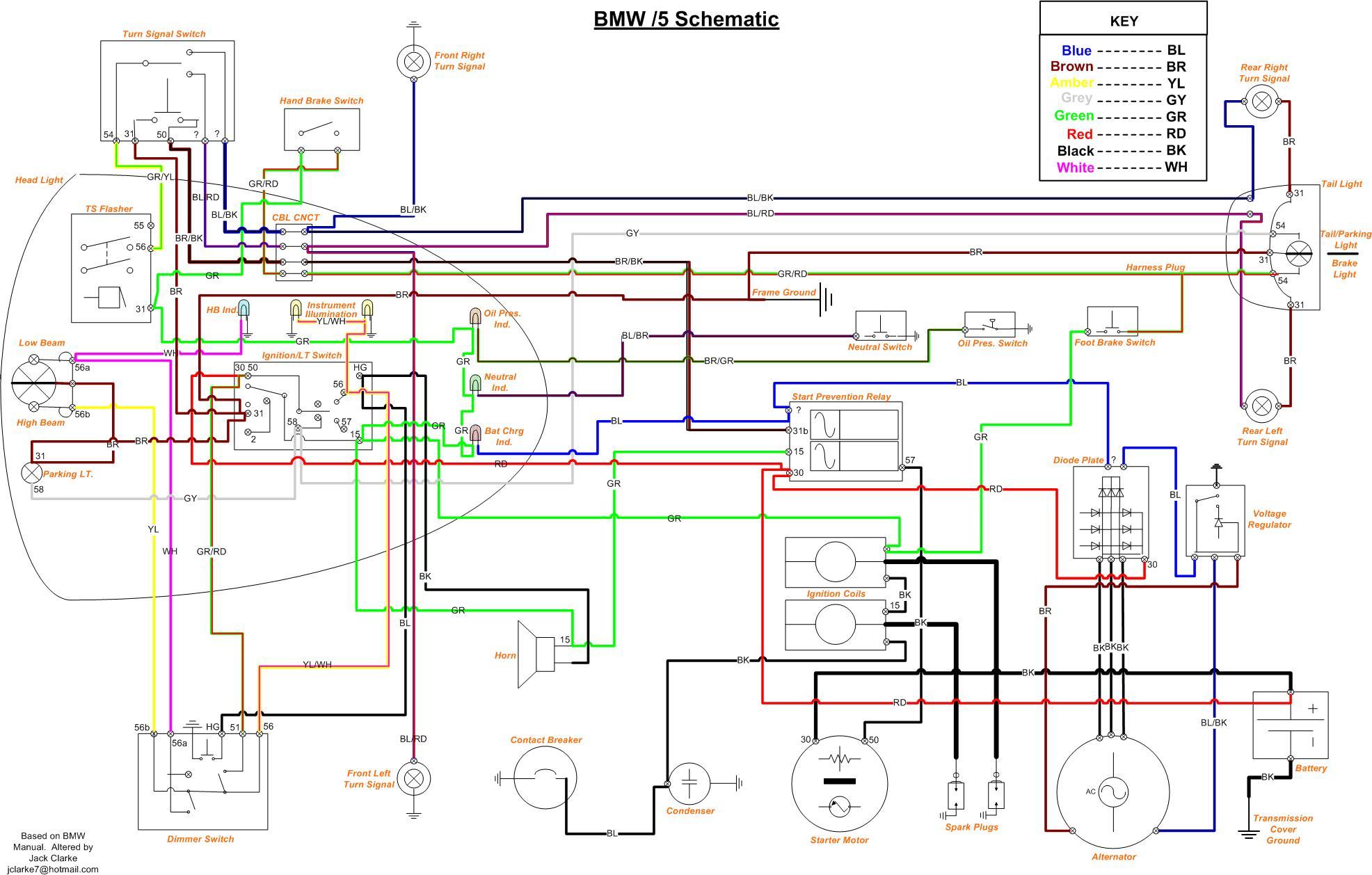 2008 bmw k motorcycle wiring diagram