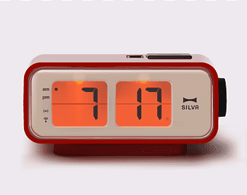 Alarm Clocks Flip Clock Retro Style