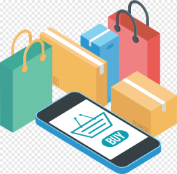 Online shopping Mobile phone shopping phone Icon coffee Shop shopping Bags Trolleys png PNGWing