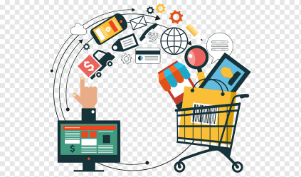 E commerce Omnichannel Online shopping Sales Retail online shop service people business png PNGWing