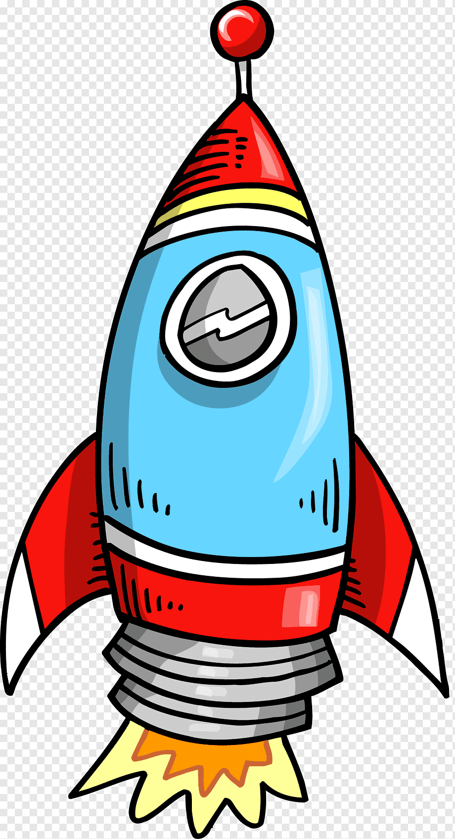 Gambar Roket Animasi : gambar, roket, animasi, Rocket,, Rocket, Drawing,, Material, Cartoon, Character,, Template,, Spacecraft, PNGWing