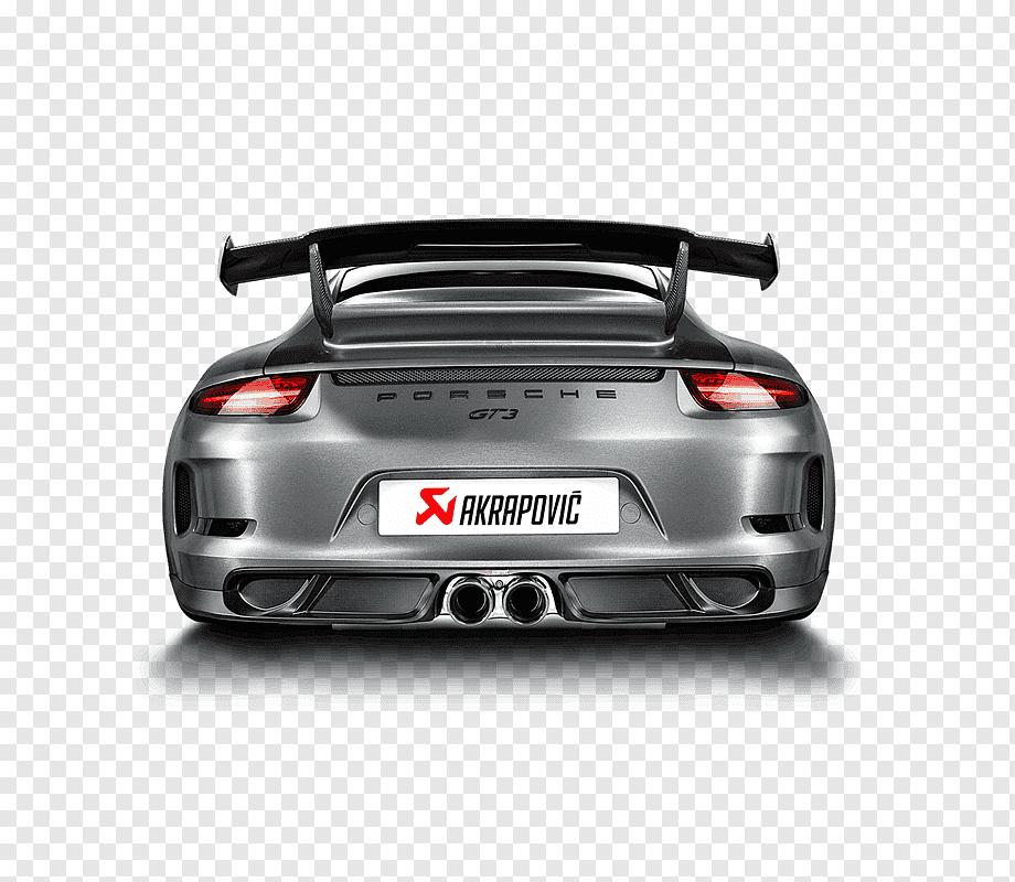 porsche 911 gt3 r 991 exhaust system