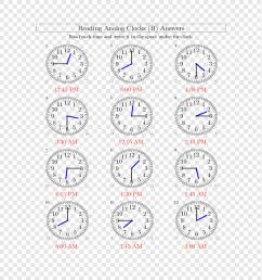 Clock Hour Measurement Time Worksheet [ 943 x 920 Pixel ]