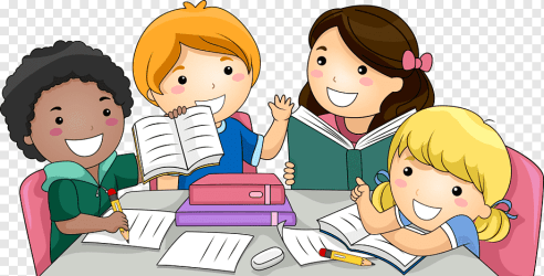 Child Students group of children studying illustration class reading people png PNGWing
