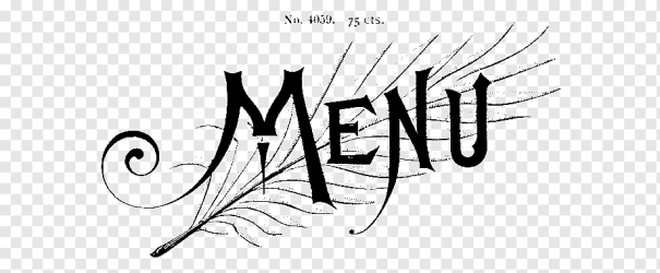 Logo Calligraphy Cursive Vintage Font restaurant menu design angle white text png PNGWing
