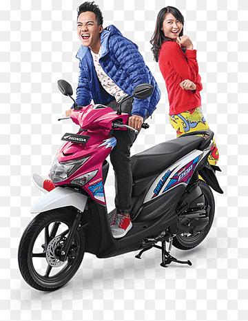 Sepeda Motor Honda Png : sepeda, motor, honda, Skuter, Images, PNGWing