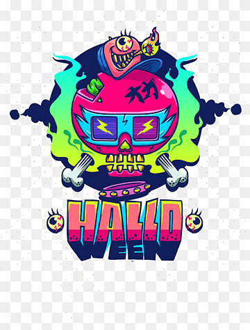 Halloween Logo Png : halloween, Halloween, Images, PNGWing