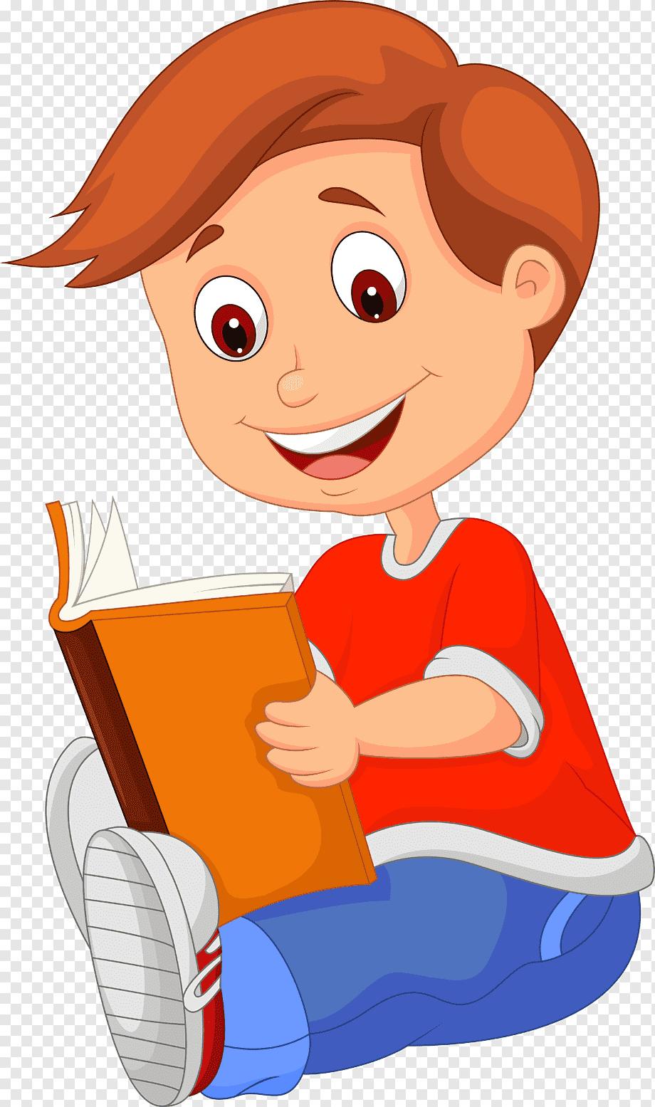 Gambar Buku Kartun Png : gambar, kartun, Cartoon, Reading,, Child,, Hand,, Comic, PNGWing
