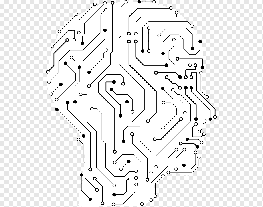 Electronic engineering Human head Brain Illustration
