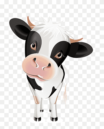 Sapi Kartun Png : kartun, Cattle, Infant, Live,, Cartoon, Character,, White,, Animals, PNGWing