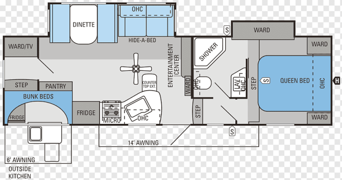 jayco inc campervans caravan floor plan fifth wheel