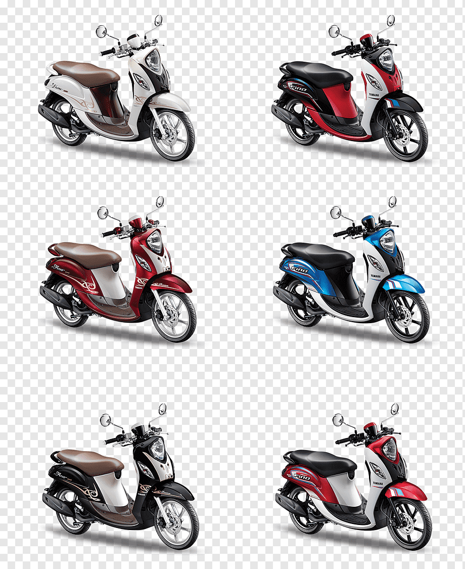 Motor Scoopy Png : motor, scoopy, Yamaha, Images, PNGWing