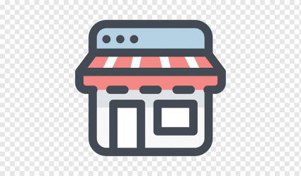 Red and white storage illustration Computer Icons Online shopping E commerce Retail store icon rectangle retail logo png PNGWing