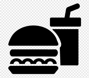 Fast food Drink Junk food Eating food icon food text logo png PNGWing