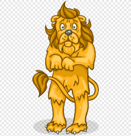 Cowardly Lion The Wizard Industriales, Scared Lion s, mammal, cat ...