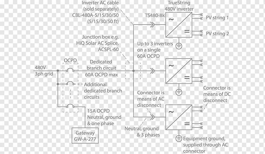 House Wiring Diagram With Inverter Connection : House